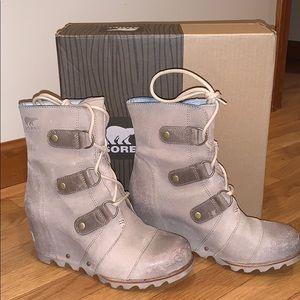 Sorel 'Joan of Arctic' Waterproof Wedge Boot